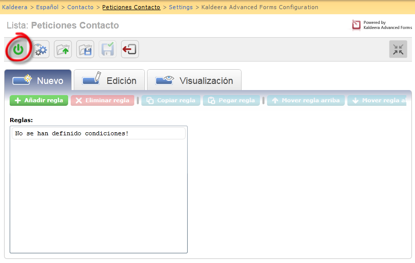 Activacion integrada en SharePoint